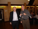 Les and Dave - winners of the Peter Seaton Trophy (Men's Pairs)